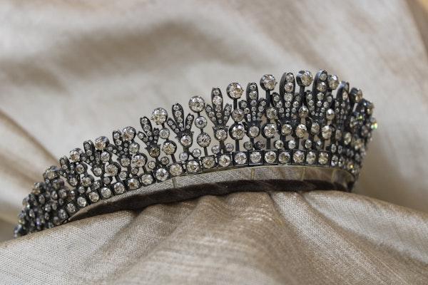 A Superb Kokoshnik Diamond Tiara - Necklace, Austro-Hungarian, Late 19th Century - image 3