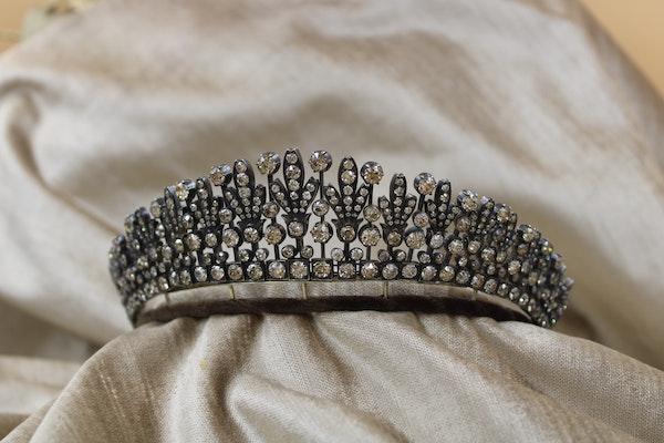 A Superb Kokoshnik Diamond Tiara - Necklace, Austro-Hungarian, Late 19th Century - image 4