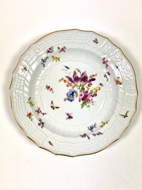 Meissen dinner plates - image 2