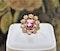 An extraordinary and rare 3.00 Carat Natural Pink Spinel & Diamond Cluster Ring set in 18 Carat Yellow Gold, Circa 1900 - image 3