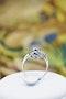 "An extraordinary example of an ""Art Deco"" Sapphire, Diamond & Platinum Ring, Circa 1920-1930. - image 4"