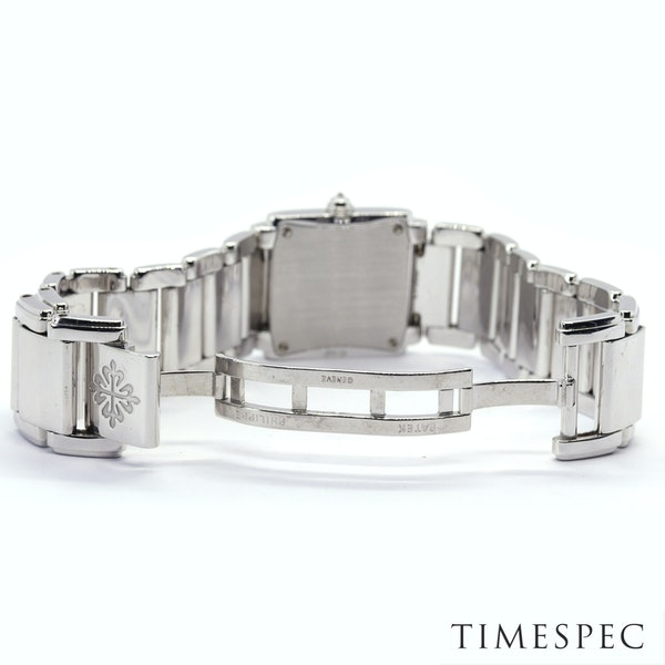Patek Philippe Twenty~4 Ref 4908 18K White Gold &Diamond Quartz Movement. Ladies - image 6