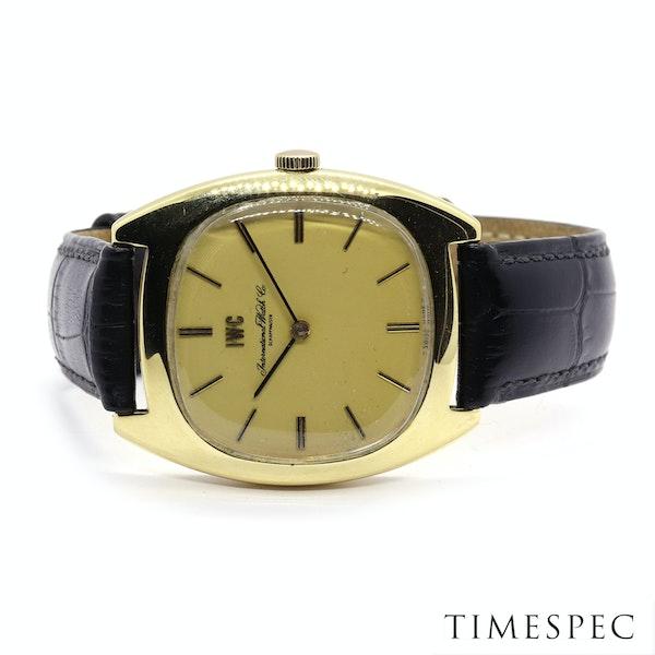 IWC International Watch Company18k Yellow Gold 35mm Mechanical movement Vintage - image 4