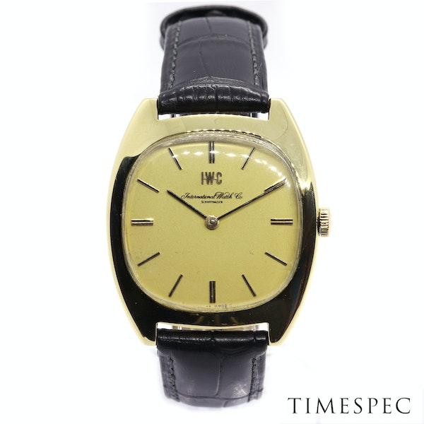 IWC International Watch Company18k Yellow Gold 35mm Mechanical movement Vintage - image 2