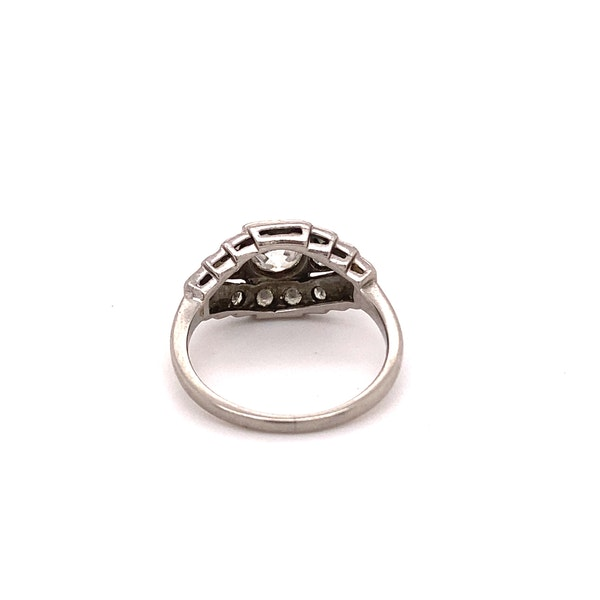 Stylish, Art Deco Ring Ca1920-35 - image 3
