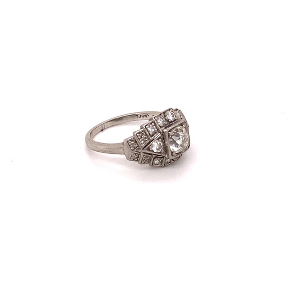 Stylish, Art Deco Ring Ca1920-35 - image 5