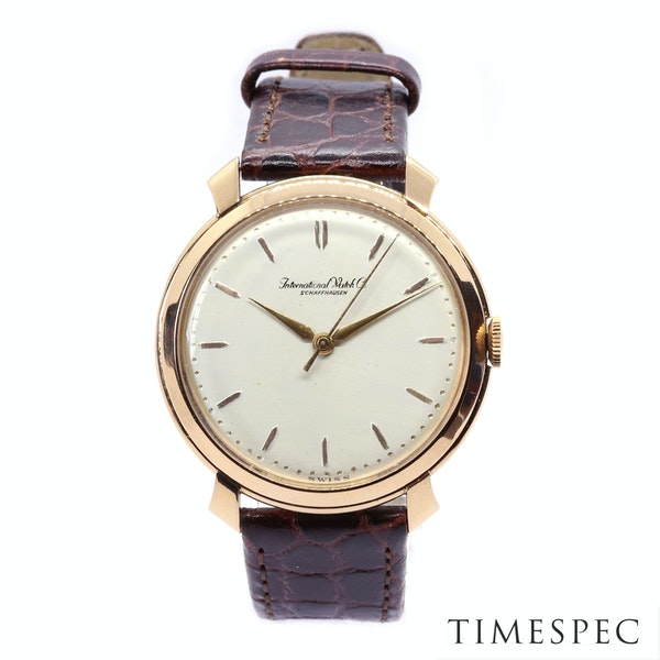 IWC, International Watch Company,18K Rose Gold, 36mm, Winding movement 1950's - image 2