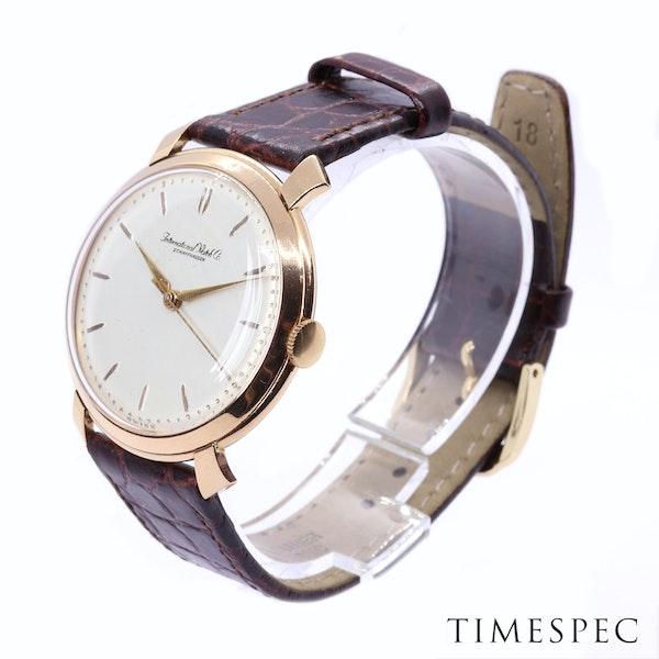 IWC, International Watch Company,18K Rose Gold, 36mm, Winding movement 1950's - image 3