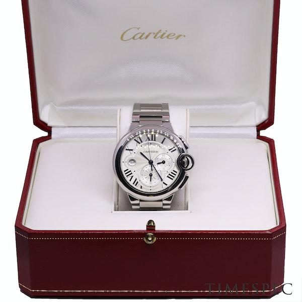 Cartier BALLON BLEU, 44mm, Automatic movement, Chronograph, Steel, Ref 3109 - image 7