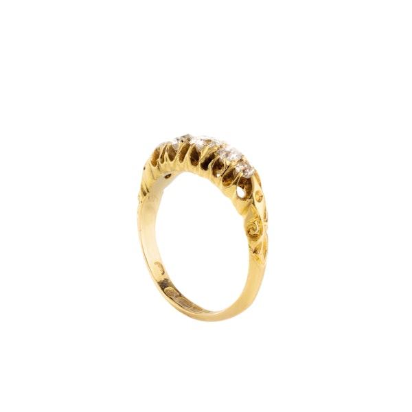 An Edwardian Five Diamond Ring - image 2