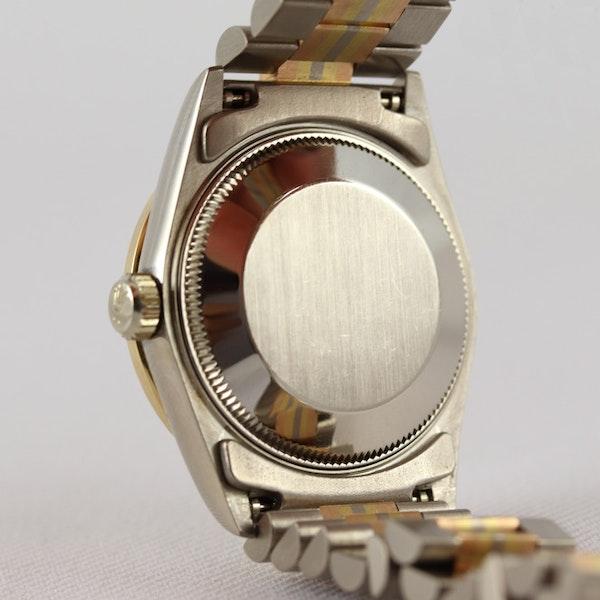 Rolex 18K Tridor Gold. 31mm. Model 68149. Midsize. Original Diamond Bezel. Year 1986 - image 10