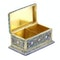 Russian silver-gilt, cloisonné and pictorial enamel stamp box.Moscow 1888 - image 5