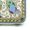 Russian silver gild and cloisonné enamel cigarette case, Moscow 1890s by BиK - image 5