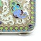 Russian silver gild and cloisonné enamel cigarette case, Moscow 1890s by BиK - image 9
