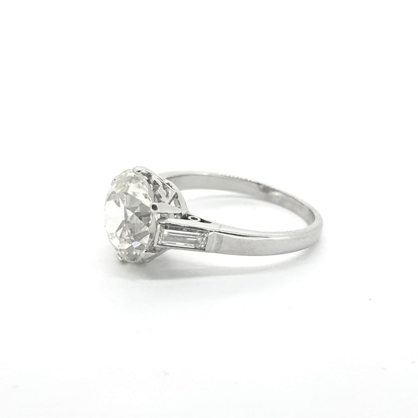 2.87 carats Solitaire Diamond Ring - image 3