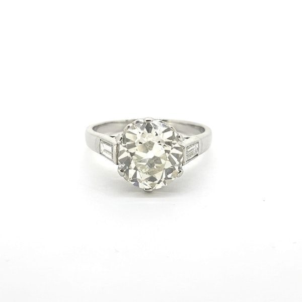 2.87 carats Solitaire Diamond Ring - image 4