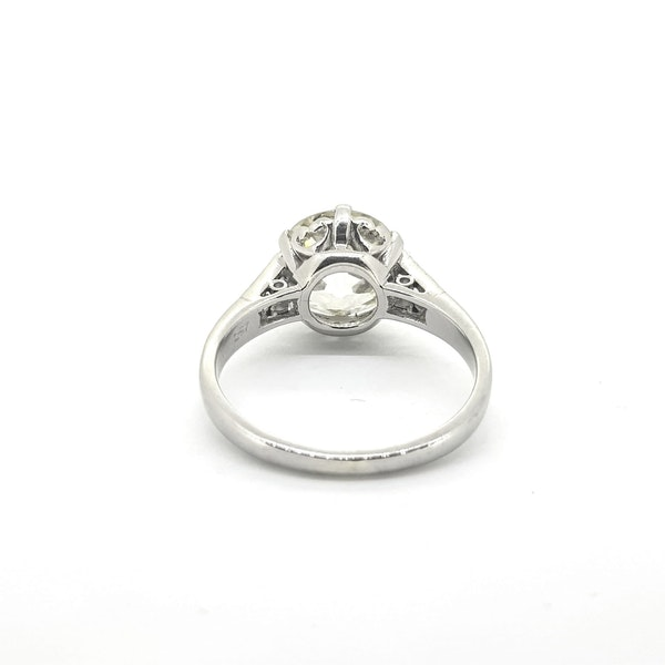 2.87 carats Solitaire Diamond Ring - image 2