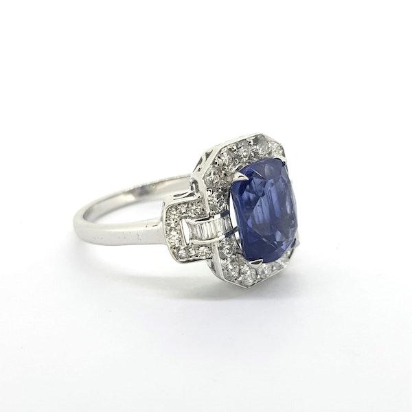 Sapphire & Diamond Dress Ring - image 2