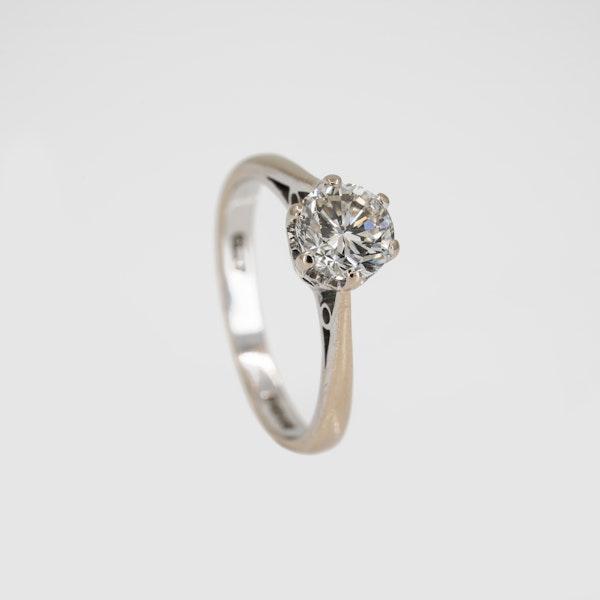Diamond solitaire ring, 1.1 ct est. - image 2