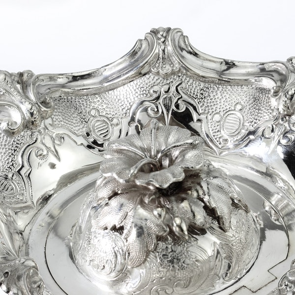 Russian silver 5 pieces Coffee and Tea set, St. Petersburg, 1844 - image 15