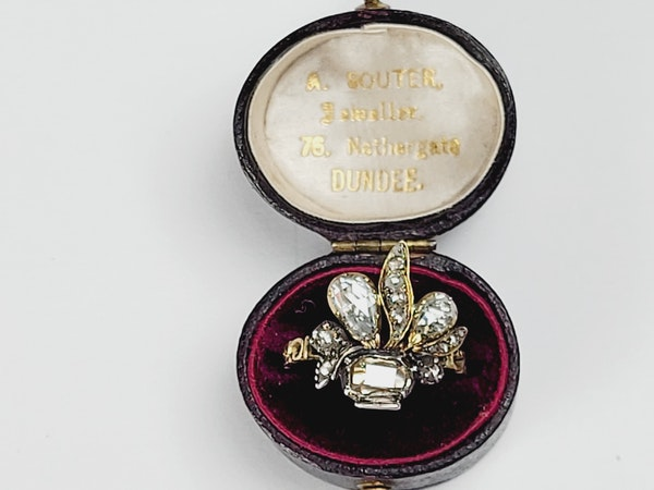 Antique diamond giardinetti ring sku 4950 DBGEMS - image 5