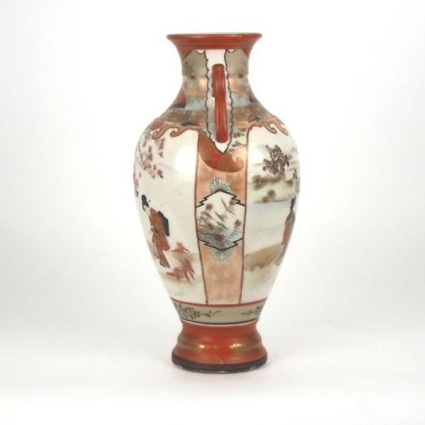 Japanese Kutani vase - image 3