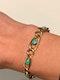 Turquoise Victorian 9ct gold bracelet. Spectrum - image 3