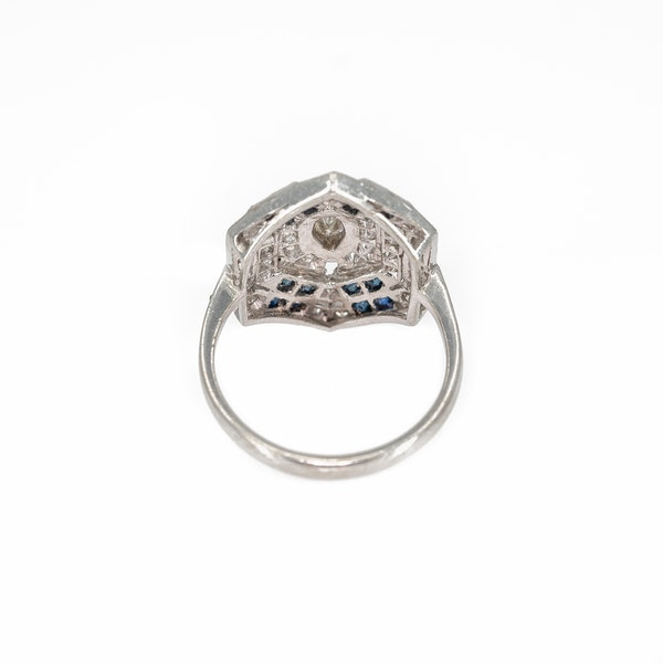 A Pretty Ring of Deco Style Offered by The Gilded Lily - image 4