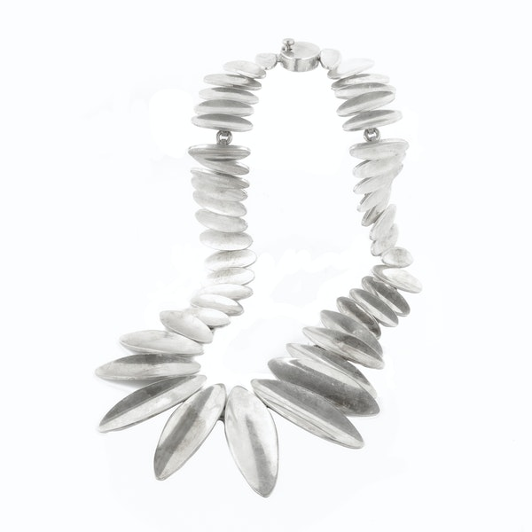 A Mexican Silver necklace - image 2