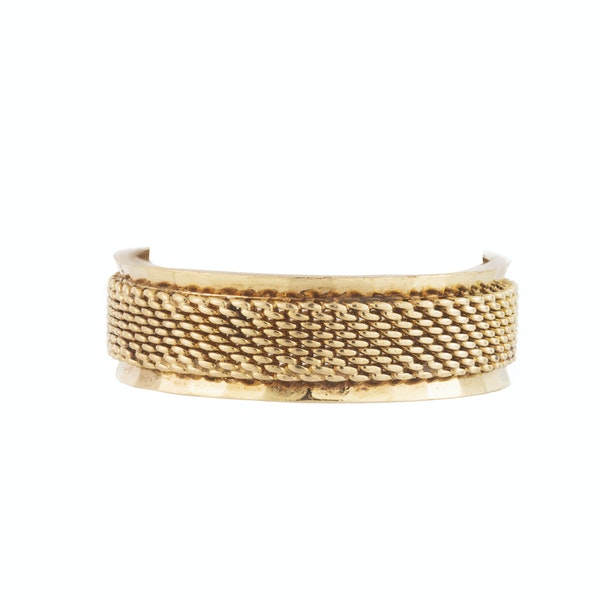 A Gold Band Ring - image 1