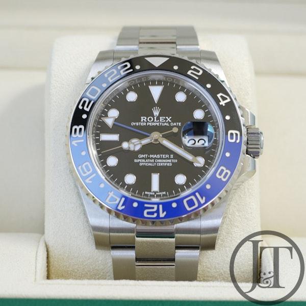Rolex GMT Master II 116710BLNR Batman 2018 - image 2