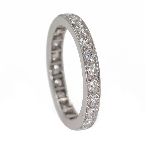 Diamond full eternity ring - image 2