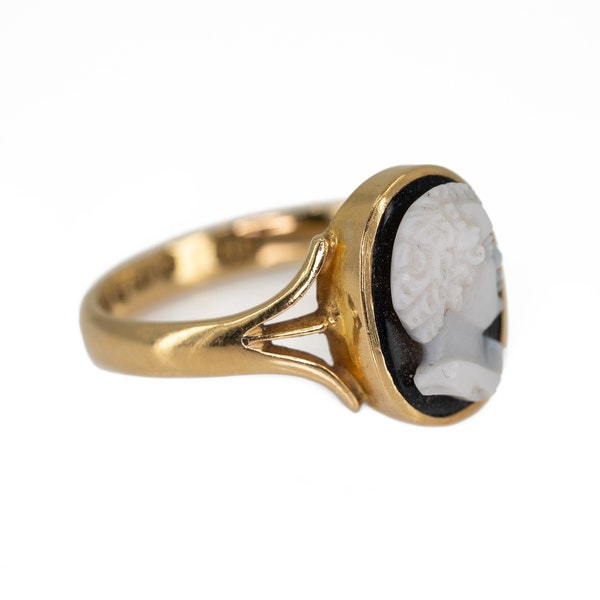 """""""Blackamoor"""" cameo ring - image 2"""