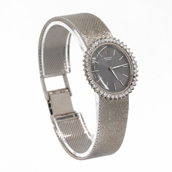 A Ladies Rolex Dress Watch Offered by The Gilded Lily - image 2