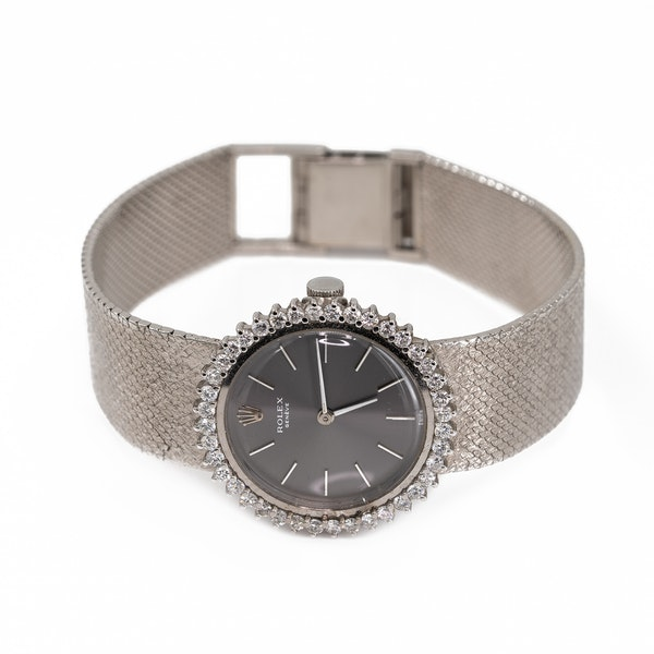 A Ladies Rolex Dress Watch Offered by The Gilded Lily - image 3
