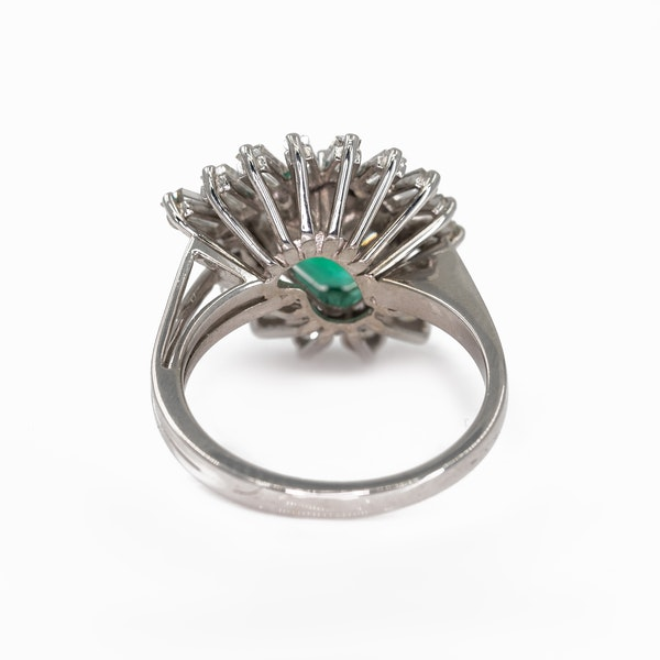 An Emerald Dress Ring Offered by The Gilded Lily - image 5