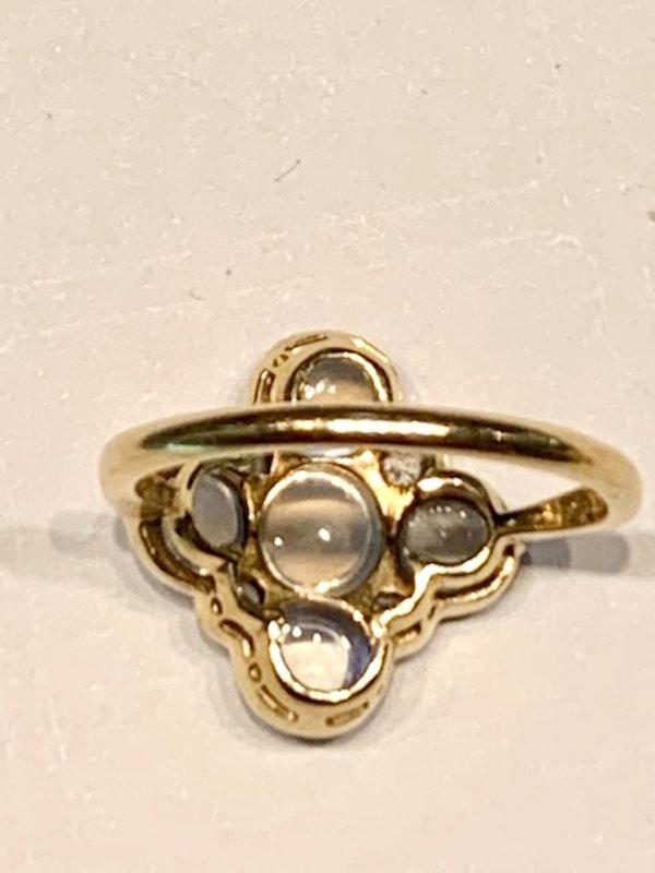Moonstone and diamond ring. Spectrum - image 3