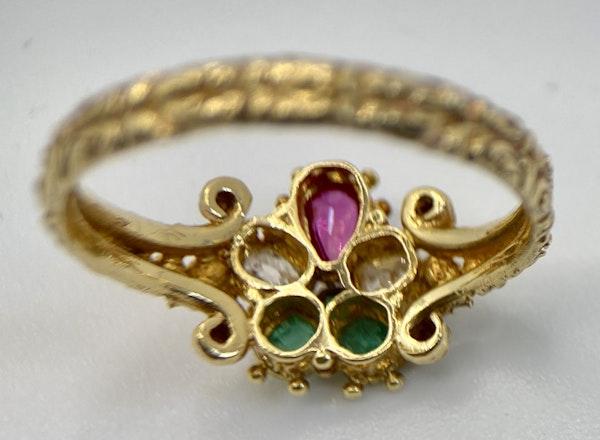 Early 19th Century Gem Set Ring - image 2