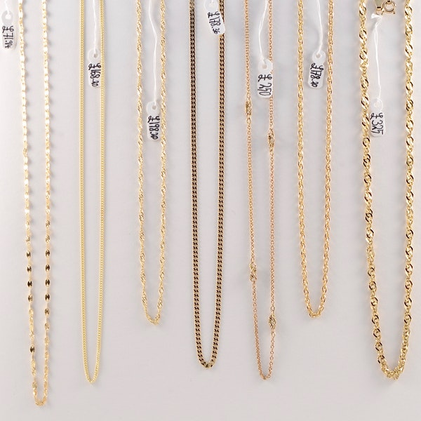 Selection of 9ct Gold Antiques Chains, SHAPIRO & Co since1979 - image 2