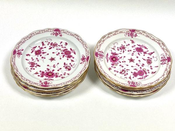 19th century Meissen dessert plates - image 1