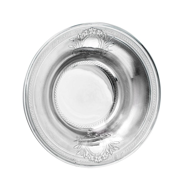 Large fine silver Jug and Bowl - image 6
