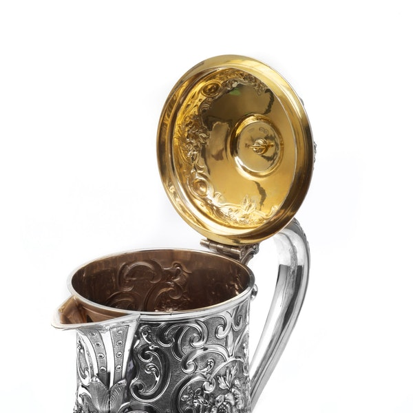 Silver tankard by Robert Hennell - image 6