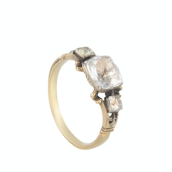 A Georgian Rock Crystal ring - image 2