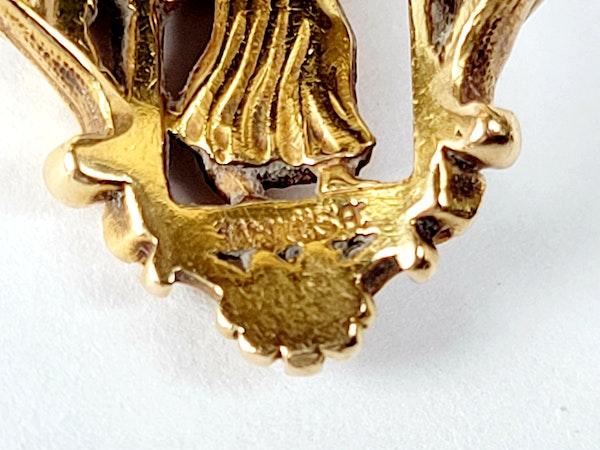 Weise 18ct gold ring sku 5000  DBGEMS - image 2