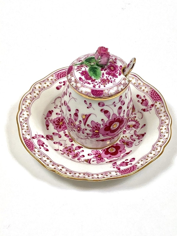 Meissen preserve pots and spoons - image 2