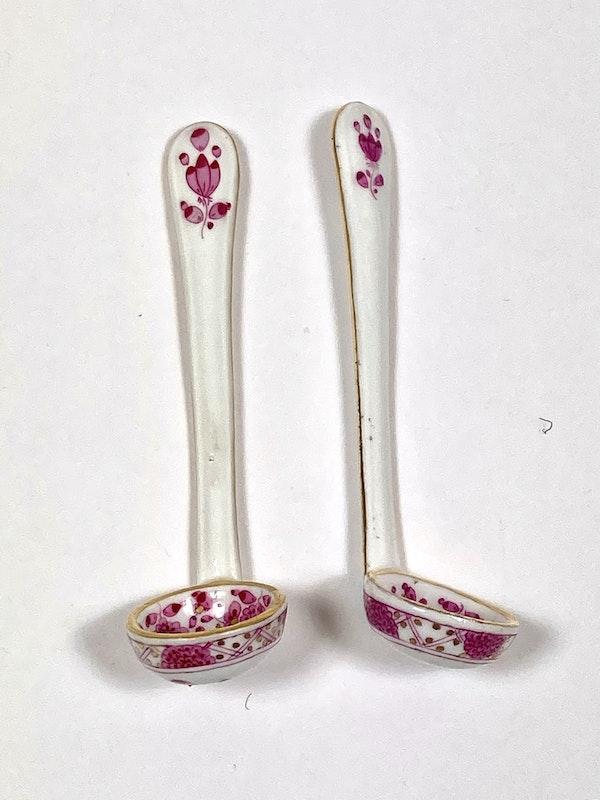 Meissen preserve pots and spoons - image 3