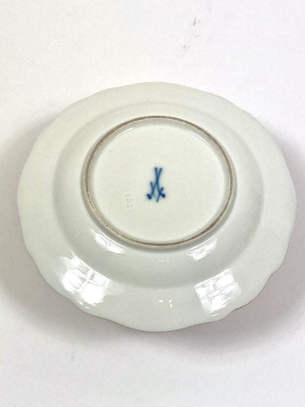 Meissen preserve pots and spoons - image 6