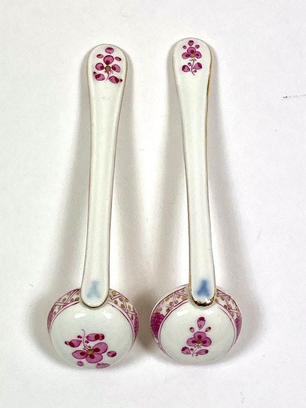 Meissen preserve pots and spoons - image 5
