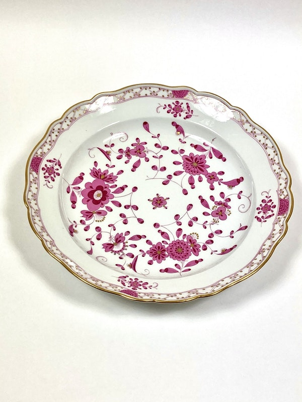4 assorted 19th century Meissen serving dishes - image 4