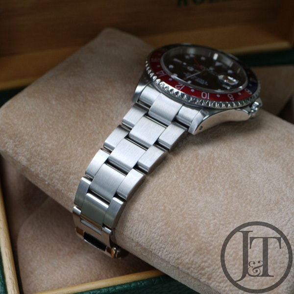 Rolex GMT Master II 16710 Pepsi Oyster - image 4